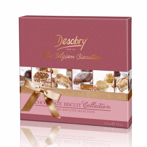 Chocolate Biscuit Box Desobry